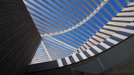 Metal Art Canopy, Jan Shrem & Maria Manetti Shrem Museum
