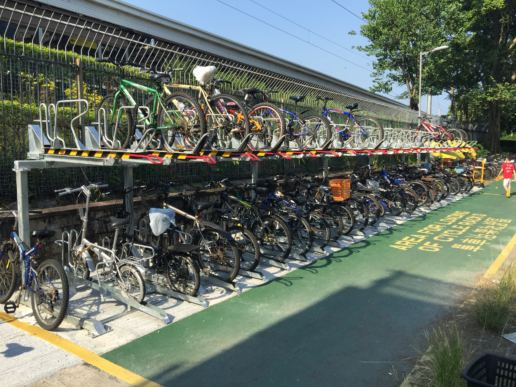 Cityplushk - 大埔墟火車站雙層單車停泊架系統 - 運輸署