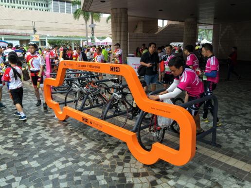 Cityplushk - Cyclehoop私家車車型創意單車泊架