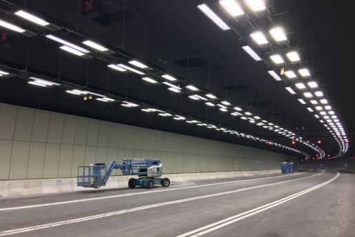 Vitreous Enamel Panel, Hong Kong-Zhuhai-Macau Bridge Tunnel | Program Contractors Ltd