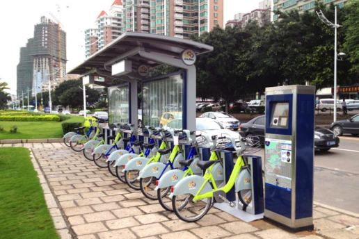 Street Furniture Public Bicycle Sharing System, Zhuhai, 2013 | Program Contractors Limited | Build, Manufacture, Installation, Supply