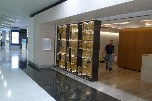 Metal Art Signature Screen, Singapore Airline Lounge, 2014, Program Contractors, Hong Kong
