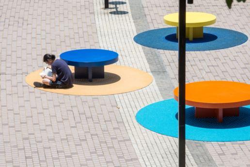 城市家具, 公共家具及户外坐椅, 么地道公园, 2017, 葆冈工程 - 城市艺裳计划